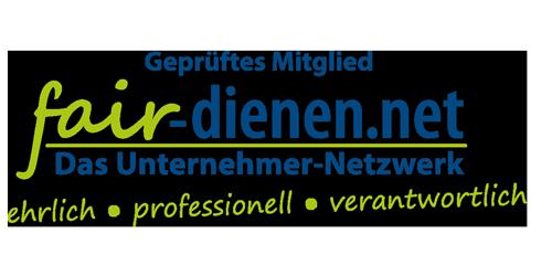 Geprüftes Mitglied im fair-dienen Netzwerk Wuppertal